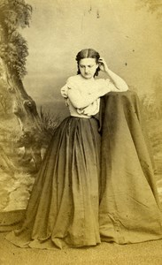 London Theater Actress Kate Bateman Old CDV Photo Mayall 1864