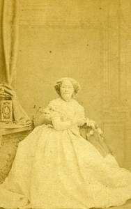 London Theater Actress Miss Stirling Old CDV Photo Southwell 1864