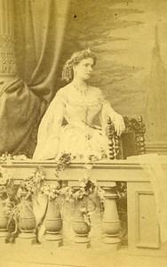 London Theater Actress Stella Colas Old CDV Photo LSC 1864