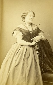 London Theater Actress Miss Stirling Old CDV Photo LSC 1864