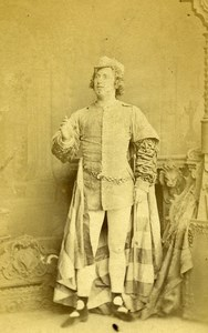 London Theater Actor John Nelson Old CDV Photo Southwell 1864
