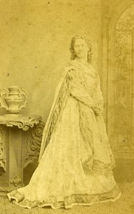 London Theater Actress Helen Howard Old CDV Photo Southwell 1864