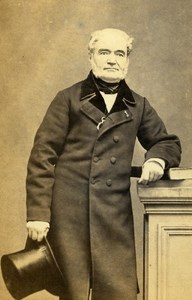 France Mister Buisson Mayor of Bourgouin Old CDV Photo Durand 1865