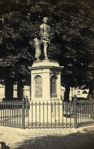 Switzerland Bern Statue de Berthold V de Zähringen CDV Photo Adolphe Braun 1865