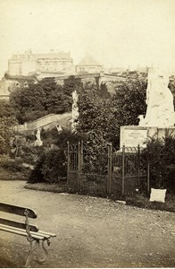 Scotland Ecosse Stirling Castle Old CDV Photo GW Wilson 1865