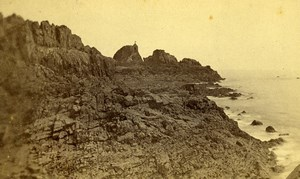 United Kingdom Jersey Hermitage Old CDV Photo Grejory 1865