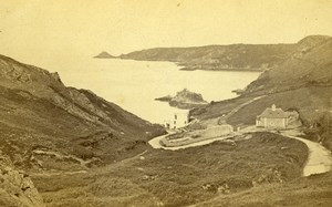 United Kingdom Jersey Bouley Bay Old CDV Photo Grejory 1865