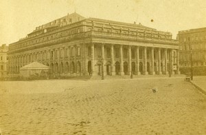 France Bordeaux Theater Old CDV Photo Jules Andrieu 1865
