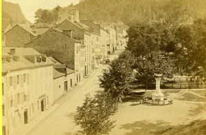 France Pyrenees Eaux-Bonnes Jardin Darralde Park CDV Photo Jules Andrieu 1865