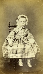 France Paris Amelie Beaufour Terrillon Second Empire Old CDV Photo Mulot 1859