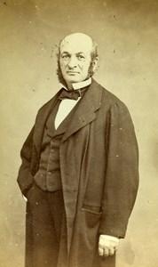 France Paris Beaufour Vierling Man Second Empire Fashion CDV Photo Mulot 1865