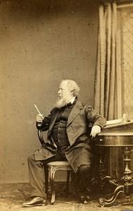 United Kingdom Brighton Man Victorian Fashion Old CDV Photo Hennah & Kent 1865