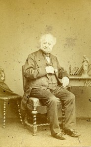 United Kingdom London Man Victorian Fashion Old CDV Photo Watkins 1865