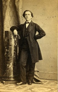 United Kingdom Liverpool Man Victorian Fashion Old CDV Photo Stortz 1865
