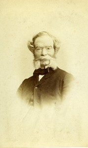 United Kingdom Clifton Man Victorian Fashion Sideburns CDV Photo Beattie 1870
