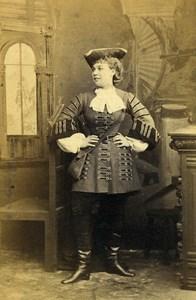 London Theater Actress Ethel Lavenu in Duke's Motto Old CDV Photo Southwell 1864