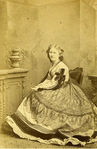 London Theater Actress Helen Howard Comedy of Errors CDV Photo Southwell 1863