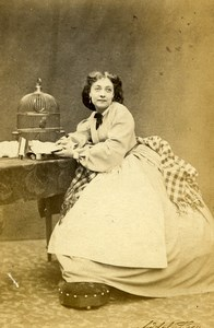 London Theater Actress Lydia Foote Ticket-of-Leave Man Adolphe Beau CDV Photo