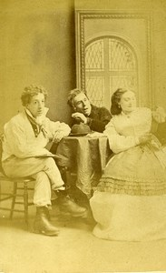 London Theater Stage Actors Swanborough Stoyle & Craven CDV Photo Southwell 1864