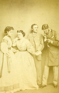 London Theater Actors The War to the Knife Josephs Dewar Bancroft CDV Photo 1865