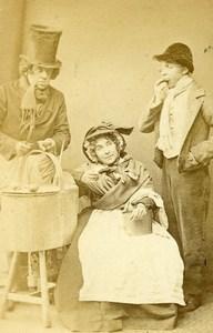 Theater Streets of London David Fisher Marston Domenick Murray CDV Photo 1864