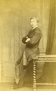 British Royal Family Prince of Wales later Edward VII Old CDV Photo Joubert 1865