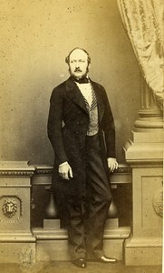 British Royal Prince Consort Albert Saxe Coburg Gotha Old CDV Photo Mayall 1865