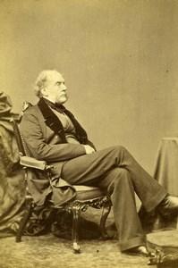 United Kingdom Glasgow Historian Sir Archibald Alison Old Photo CDV White 1865