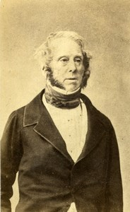 United Kingdom London Lord Palmerston Old Photo CDV Mayer & Pierson 1865