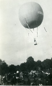 France Fives Lille Fetival Ballooning Old Amateur Photo Snapshot 1935
