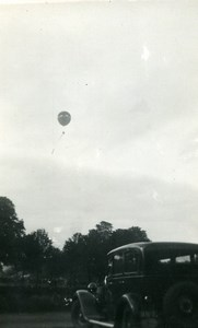 France Fives Lille Festival Ballooning Automobile Amateur Photo Snapshot 1935
