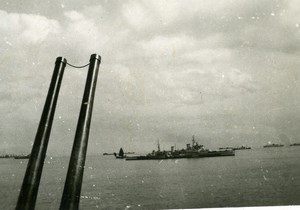 France WWII French ? Military Navy Old Photo Snapshot 1940