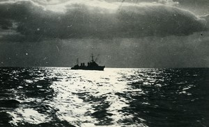 France WWII French Military Navy Old Photo Snapshot 1940