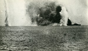 Senegal Dakar WWII French Military Navy Battle Old Photo Snapshot 1940