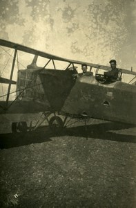 Syria under French Mandate Military Aviation Aircraft Old Photo Snapshot 1930