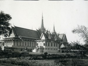 Cambodia Phnom Penh Historic Site Old Amateur Snapshot Photo 1934