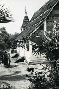 Cambodia Phnom Penh Historic Site Palace Old Amateur Snapshot Photo 1934