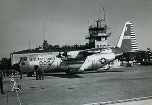 USA Military Transport Aircraft US Air Force 322nd Air Division Old Photo 1960