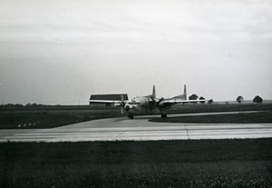 USA Military Aviation Transport Aircraft US Air Force Old Photo 1960