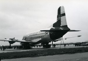 USA Military Cargo Aircraft US Air Force C-124 Globemaster Old Photo 1960