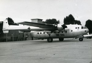 USA ? Military Transport Aircraft Aviation GAF NORD-2501 Noratlas Old Photo 1960
