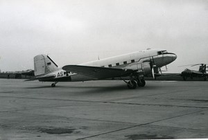 USA Airliner Aircraft Aviation German? Vickers VC.1 Viking Old Photo 1960