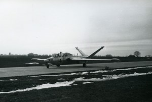 USA? Luftwaffe Military Jet Aircraft German Fouga CM.170 Magister Old Photo 1960