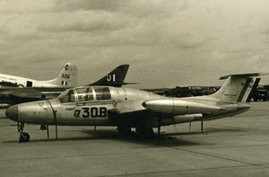 USA Military Trainer Aircraft Morane-Saulnier MS.760 Paris Aviation Photo 1960