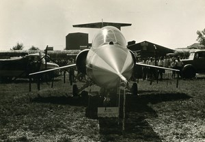 Germany Military Fighter Aircraft Lockheed F-104 Starfighter Airshow Photo 1960