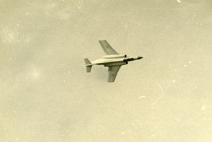 Germany ? Airshow Military Fighter Aircraft Aviation Old Photo 1960