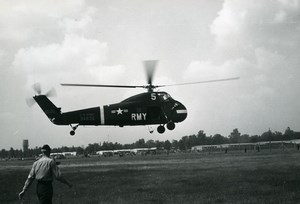 USA Military Helicopter Sikorsky US Army 34535 Aviation Old Photo 1960