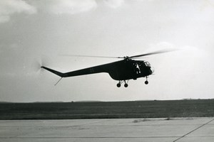 USA ? Military Helicopter Bristol Sycamore Aviation Old Photo 1960