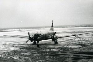 Convair 330 Airliner Airplane Aviation Lufthansa Old Photo 1960