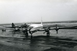 Aviation Airliners Airplanes Pan American and Seaboard & Western Old Photo 1960